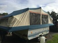 Folding camper- 6 berth Conway cruiser. Ideal for Music Festivals & cheap family holidays.