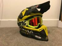 aaca48cee Just 1 full carbon motocross helmet size small 55-56cm