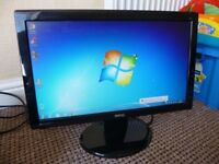 Benq 19'' LCD Monitor in Excellent Condition