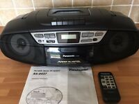 Panasonic Portable Stereo CD System RX-DS27