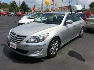 2012 HYUNDAI GENESIS 3.8 - LEATHER HEATED MEMORY SEATS, REAR VIE