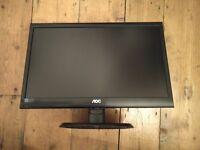 """Monitor 20"""" LED - AOC e2050s"""