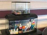 TWO FISH TANKS MUST GO TOGETHER £70