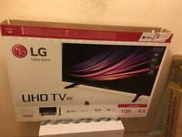 LG 43UH61 43 INCH 4K TV...BOXED LIKE BRAND NEW