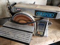 Draper Belt and Disc Sander