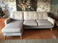 John Lewis & Partners Barbican 5+ Seater LHF Chaise End Sofa