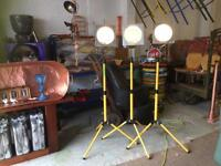 Theatre Lights on tripods (10)