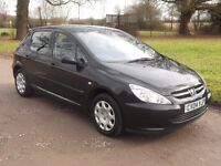 2004 PEUGEOT 307 1.4, MOT FEBRUARY 2018, ONLY 85,000 MILES, CAMBELT REPLACED, ONLY £595