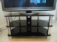 Levv 3 Shelf Universal TV Stand for up to 42 inch