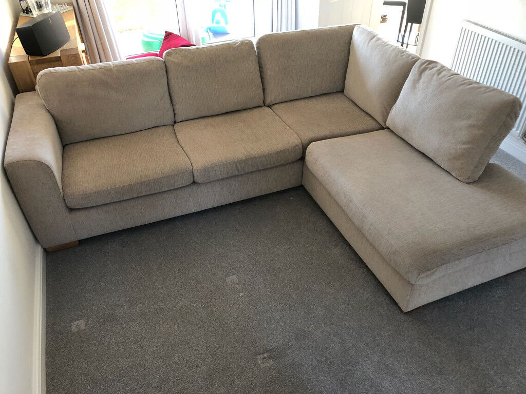 John Lewis Felix Corner Sofa Right Hand Facing Chaise End