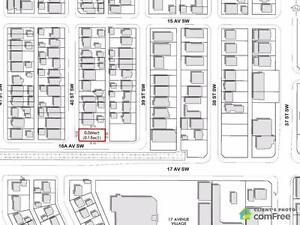 $800,000 - Land to be developped for sale in Calgary - Southwest