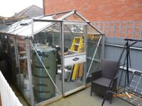 greenhouse. 12ft x 8ft