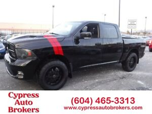 2012 Ram 1500 Sport (Navigation, Leather, Sun-Roof & DVD)