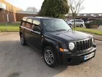 2009 Jeep Patriot 2.0 crdi 4x4 12 months mot/3 months parts and labour warranty