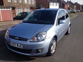 2007 FORD FIESTA 1.2 ZETEC **FSH & AUTO LIGHTS**