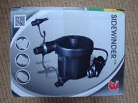 BNIB Bestway Sidewinder ac air pump for airbeds