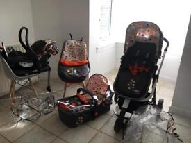 Cosatto giggle 2 Fable full travel system