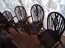 Lovely solid wood chairs