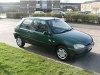 peugeot 106 1.4 petrol **12 months mot** service history , very clean example ! drives perfect