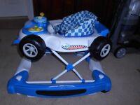 My Child Car Baby Walker 2 in 1