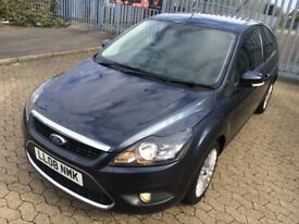 Ford Focus 2008, diesel, manual, titanium, 3 doors hatchback, Hpi clear, just serviced,