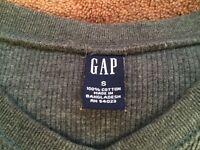 Gap V Neck Gray Jumper, size S