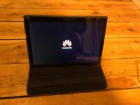 Huawei Tablet T3 10 - like new (never used) incl case