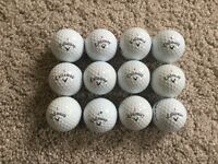 ONE DOZEN CALLOWAY CHROME SOFT, PRE OWNED AND PICKED GREAT CONDITION £12