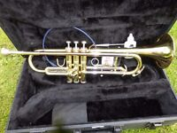 CONN International Trumpet. 201BY (Student) With Case & Service Kit.