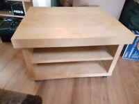 Sturdy TV stand with Wheels