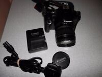 Canon EOS 450D 12.2MP Digital SLR Camera - Black (Kit w/ EF-S 18-55mm lens