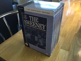 The Sweeney complete series box set with 14 DVD's - very good condition