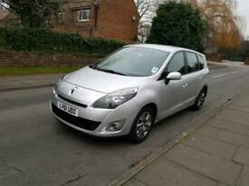 Renault grand scenic 1.5dci 7 seater