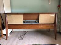 Genuine vintage McMichaels Stereo record and radio player