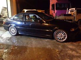 BMW 325 CI E46 M SPORT BREAKING FOR PARTS COSMOS BLACK M54B25
