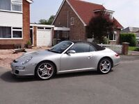 2005 Porsche 911 Carrera 2S Tiptronic Convertible 65500 miles only. Quick sale required