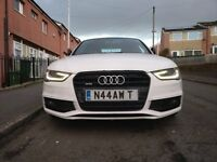 Audi A4 2.0 TFSI, Black Edition, S Line, Quattro, HDD SAT NAV, 19' Rotor Alloys, fully loaded