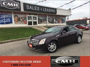 2008 Cadillac CTS LEATH ROOF BOSE *CERTIFIED*