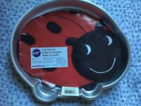Wilton lady bug nonstick pan