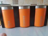 Tea sugar & coffee container