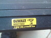 DeWalt Cordless Drill Carry Case DCD776C2