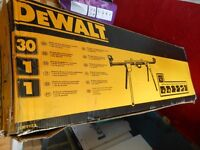 Brand new DEWALT Chop-saw stand.