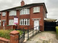 4 Bedroom Semi - Detached Family Home On Whitebrook Road, Fallowfield