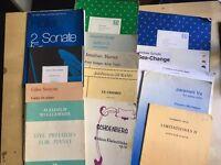 20th Century / Contemporary Piano Scores (23 Publications)