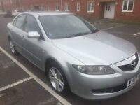 07 MAZDA 6 2 LITRE PETROL 5 DOOR HATCHBACK MOT TILL 19/09/18 SIX SPEED MANUAL NICE CLEAN FAMILY CAR