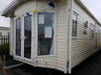 Brand new stunning static caravan for sale/ON THE BEACH/LOW GROUND RENT/facilities/swimming pool