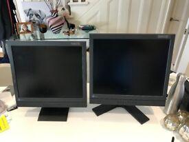 Pair of Eizo Flexscan L565 Monitors