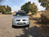 MITSUBISHI L200 2.5 DI-D Warrior Double Cab Pickup 4WD 4dr (silver) 2006