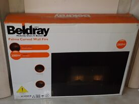 Brand new! Beldray Palma 2000w curved electric fire