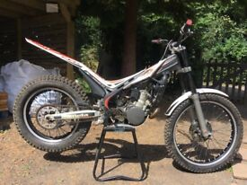 Beta Evo 250 trials Bike